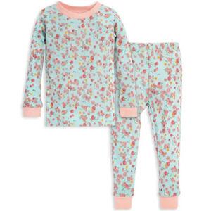 Burts Bee's Snug Fit Organic Baby Pajamas 3T NWT